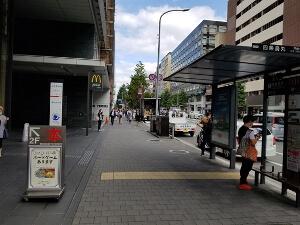 ゴリラクリニック京都烏丸院への道順